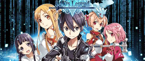 SAO's Legend - Escape from the beautiful yet deadly realm of the Fairy King in this brand new MMORPG, SAO's Legend!